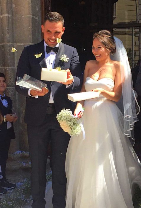 farfalle matrimonio