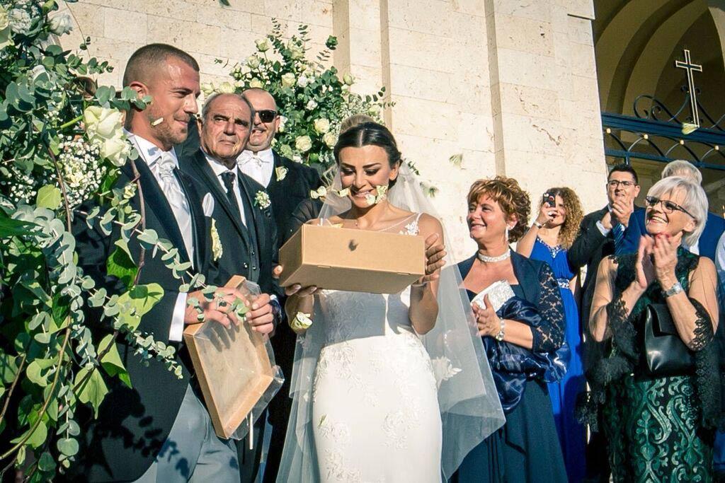 matrimonio tema farfalle